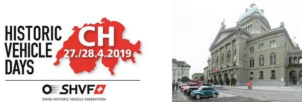 Swiss Historic Days (Sternfahrt Bundesplatz Bern) @ Bundesplatz Bern