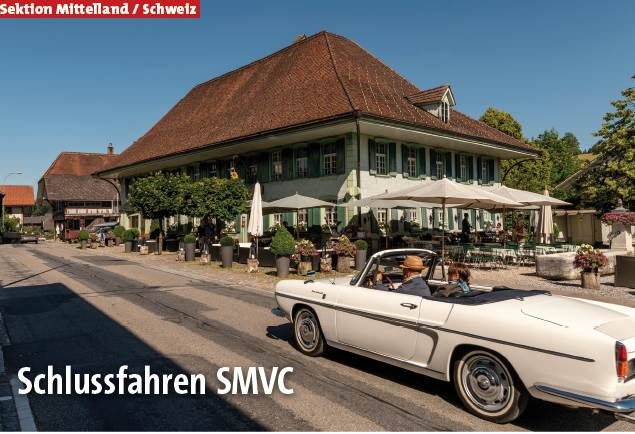 Schlussfahren 2019 SMVC Schweiz (Org. Sektion ML) @ Restaurant Isebähnli